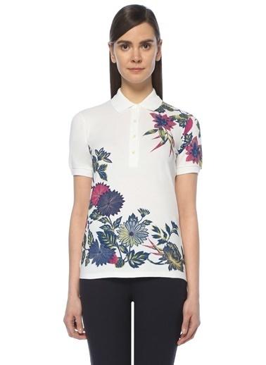 Etro Çiçekli Polo Yaka Tişört Renkli